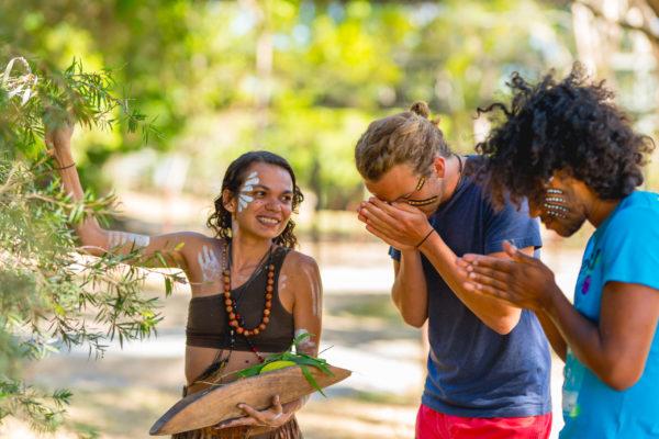 Photo by Tjapukai Aboriginal Cultural Park