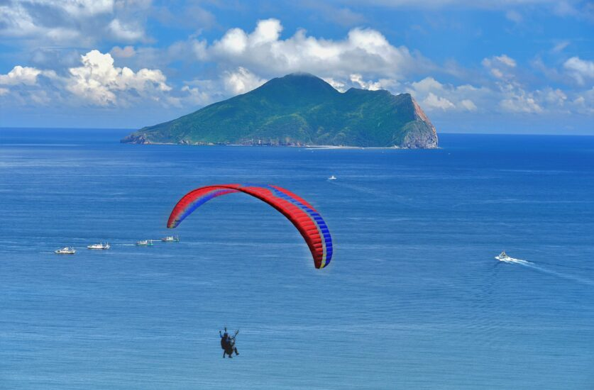 green holidays. Guishan Island, Taiwan. good travel