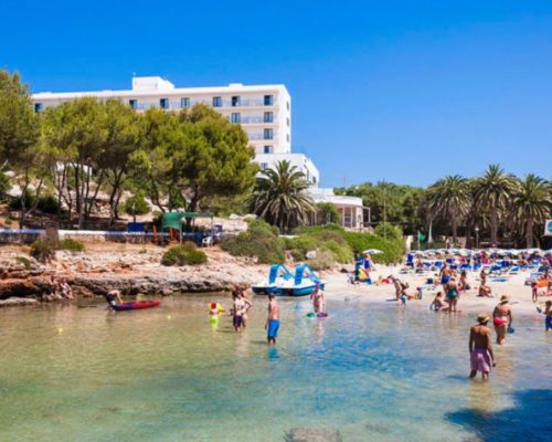 global calan blanes hotel cala playa
