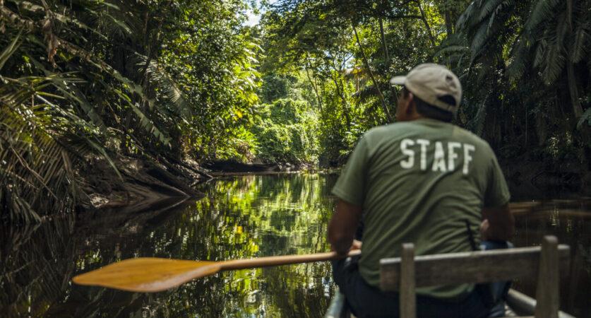 3.Canoe- Añangu Creek 3